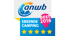 ANWB 5 Ster Erkende Camping 2016